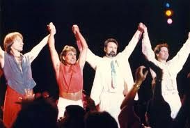 Monkees reunion at greek theater september 7 1986