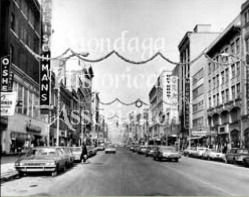 Downtown Syracuse Christmas 1