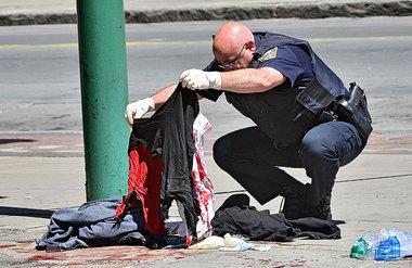Downtown syracuse stabbing 1
