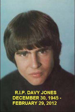 Davy jones 1945 - 2012